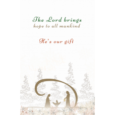 The Lord Brings Hope Christmas Card