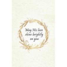 May His Love Christmas Card (Wreath)