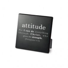 Attitude Plaque, Black