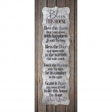 Bless This House Wall Plaque