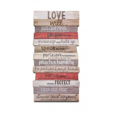 Love Will Wall Plaque