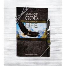 Man of God, Devotion Book & Pen Gift Set