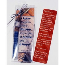 I Know the Plans I Have For You Bookmark and Pen Set