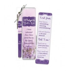 Whispers of God's Love Bookmark and Pen Gift Set