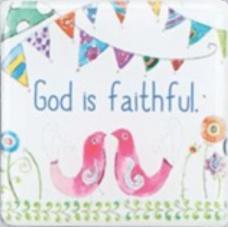 Magnet, God is Faithful