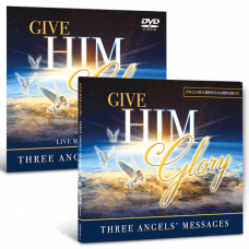 Give Him Glory DVD and CD set