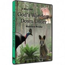 God's Wonders Down Under DVD