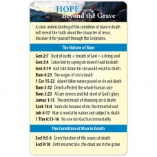 Hope Beyond the Grave Bible Reference Card