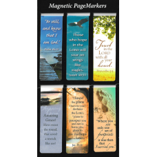 Be Still Magnetic Bookmarks (Set of 6)