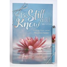 Be Still & Know Prayer Journal and Pen Gift Set