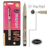 Pigma Micron 01 Fine Bible Note Pen Black