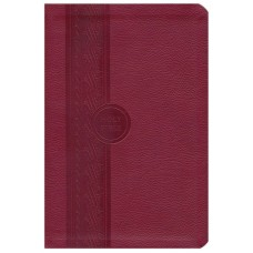 MEV Thinline Reference Bible Cranberry