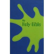 NKJV Thinline Kids Bible (Blue/Green)