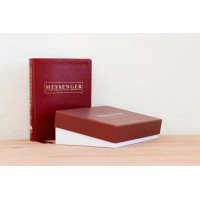 The Messenger Study Bible Cherry Red