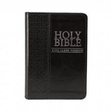 KJV Pocket Bible LuxLeather Black