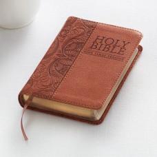 KJV Pocket Bible LuxLeather Tan
