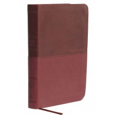 NKJV Thinline Bible Compact Leathersoft Burgundy