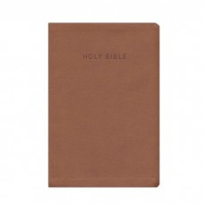KJV Super Giant Print Reference Bible Brown Indexed