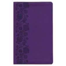 NKJV Personal Size, Large Print, Reference Bible, Purple