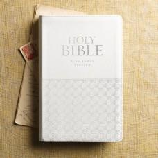 KJV Deluxe Bible White Indexed