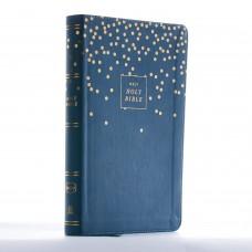 NKJV Thinline Bible, Leathersoft Teal