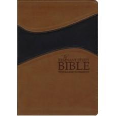 Remnant Study Bible KJV Large Print Brown/Black Leathersoft