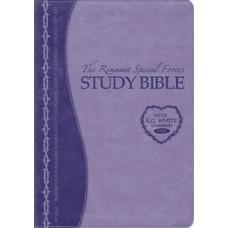 Remnant Study Bible KJV Lavender Leathersoft Indexed