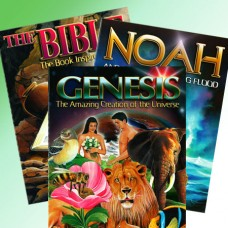 Bible Genesis and Noah (Colouring Set)