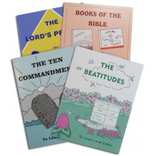 To Learn and Colour Books (Set of 4)