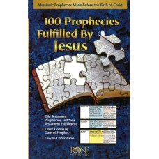 100 Prophecies Fulfilled By Jesus (Pamphlet)