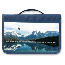 Bible Case Canvas Eagle, Large