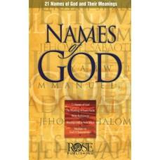 Names of God (Pamphlet)